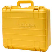 "Cape Buffalo Waterproof Utility Cases, Large Case, 16""L x 13""W x 6""H, Yellow"