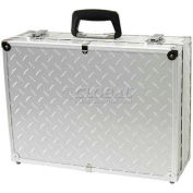 "TZ Case, Business/Office Case, 18""L x 13""W x 6""H, Silver Diamond Plate"