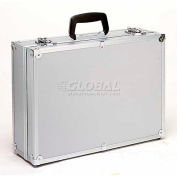 "TZ Case, Business/Office Case, 18""L x 13""W x 6""H, Metal Riveted Corners, Silver Dot"