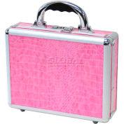 "TZ Case, Business/Office Case, 11-1/2""L x 9""W x 3-1/4""H, Pink Alligator"