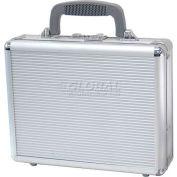 "TZ Case, Business/Office Case, 11-1/2""L x 9""W x 3-1/4""H, Silver Stripe"