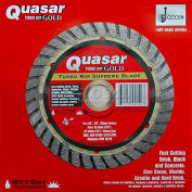 """4"""" Quasar Turbo-Kut """"Gold"""" Turbo Rim Diamond Blade"""
