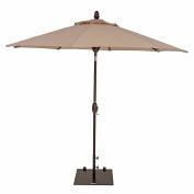 TrueShade® 9' Market Umbrella - Push Button Tilt - Antique Beige