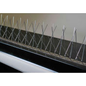 Bird Barrier Dura-Spike Xtra-Wide w/Bond Bird Spikes, 24 ft. - BP-SR625