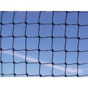 """Bird Barrier 3/4"""" Black StealthNet Standard Duty Bird Netting,  25' x 25' - N1-B110"""