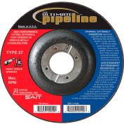"United Abrasives - Sait 20035 Depressed Center Wheel T27 7-1/2""x 1/8"" x 7/8"" Proprietary Grain - Pkg Qty 25"