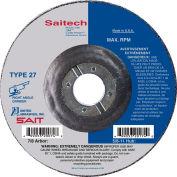"United Abrasives - Sait 20064 Depressed Center Wheel T27 4-1/2""x 1/4"" x 7/8"" Ceramic Alum. Oxide - Pkg Qty 25"