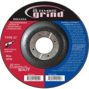 "United Abrasives - Sait 22414 Depressed Center Wheel T27 4-1/2""x 1/4"" x 7/8"" Proprietary Grain - Pkg Qty 25"