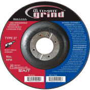 "United Abrasives - Sait 22415 Depressed Center Wheel T27 5""x 1/4"" x 7/8"" Proprietary Grain - Pkg Qty 25"