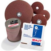 """United Abrasives - Sait 52891 3A Fiber Disc 4-1/2"""" x 7/8"""" 50 Grit Aluminum Oxide - Pkg Qty 100"""