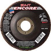 """United Abrasives - Sait 71206 Encore Flap Disc T27 Encore 4-1/2""""x 7/8"""" 40 Grit Zirconium - Pkg Qty 10"""