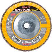 """United Abrasives - Sait 72347 Encore Flap Disc Type 29 5 """" x 5/8""""-11 80 Grit Zirconium - Pkg Qty 10"""