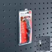 """Bott 14001108 Angled Peg Hook For Perfo Panels, 4"""" Long, (Pack Of 5)"""