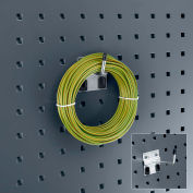 """Bott 14001117 Extended Single Hook For Perfo Panels, 1"""" Long, (Pack Of 5)"""