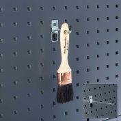 """Bott 14001147 Single Straight Hook For Perfo Panels, 4"""" Long, (Pack Of 5)"""