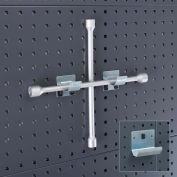 """Bott 14015041 Pipe Bracket For Perfo Panels, 2-3/8"""" Diameter, 1-3/8"""" Wide (Pack Of 2)"""