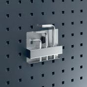 """Bott 14020002 Perfo Allen Key / Hex Wrench Holder For Perfo Panels, 4-1/2"""" Wide"""