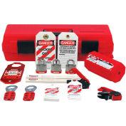 Accuform KSK234 Stopout® Standard Lockout Kit, Plastic