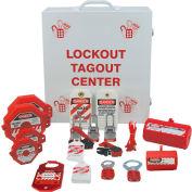 Accuform KSK369 Stopout® Lockout/Tagout Cabinet Center, Steel