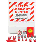 Accuform KST423 Stopout® Heavy-Duty Aluminum Big Pocket Lockout Board, Aluminum
