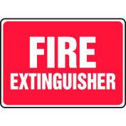 "Accuform MFXG477VS Fire Extinguisher Sign, 10""W x 7""H, Adhesive Vinyl"