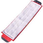 Smartcolor™ Damp Mop - Red - Pkg Qty 5
