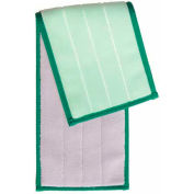 Smartcolor™ Damp Mop Pad - Green - Pkg Qty 5