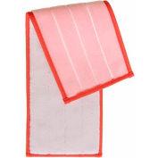 Smartcolor™ Damp Mop Pad - Red - Pkg Qty 5