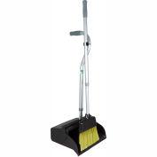 Unger SmartColor™ Telescopic Ergo Dustpan w/Broom - EDTBG - Pkg Qty 6