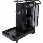 Unger BETTERx Cleaning Double Supply Cart - RRBSC