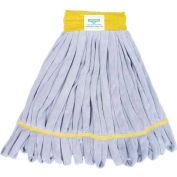 Smartcolor™ Microfiber String Mop Heavy-Duty - Yellow - Pkg Qty 5