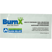 CoreTex® Burn X Lite 32733 Cool Gel Pouch, Minor Burns & Sunburns, Lidocaine Free, 300/Case