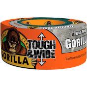 "Gorilla Silver Duct Tape, 2.88"" x 30 yd. - Pkg Qty 4"