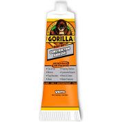 Gorilla Heavy Duty Construction Adhesive Tube, White, 2.5 oz. - Pkg Qty 6