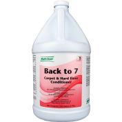 Multi-Clean Back to 7 Carpet Fiber Rinse - Floral, Gallon Bottle, 4 Bottles - 902053