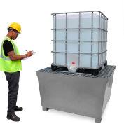 UltraTech Ultra-IBC Spill Pallet® 1184 - Steel IBC Spill Pallet - 370 Gallon Capacity