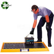 UltraTech Ultra-Containment Tray® 2352 with Grating - Yellow
