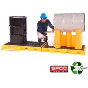 UltraTech Ultra-InLine Spill Deck, 4-Drum Model 2361