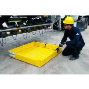 UltraTech® 8850 Ultra-Mini Foam Wall Berm®, 2' x 2', Yellow