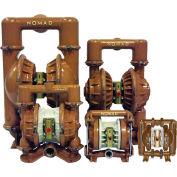 "NOMAD 50-51298 2"" TRANS-FLO GOLD AODD Pump, Ductile Iron with FKM Diaphragms & FNPT Ports"