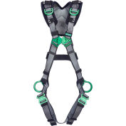 V-FIT™ 10194884 Harness, Back/Hip/Shoulder D-Rings, Quick-Connect Leg Straps, Extra Small