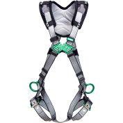 V-FIT™ 10194909 Harness, Back & Hip D-Rings, Tongue Buckle Leg Straps, Standard