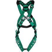 V-FORM™ 10197215 Harness, Back & Hip D-Rings, Tongue Buckle Leg Straps, Standard