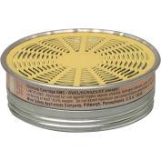 MSA Comfo® Respirator Cartridges, Organic Vapor/Acid Gas, 10/Pack, 464046