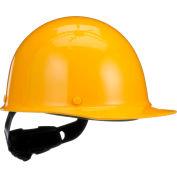 MSA Skullgard® Protective Cap With Fas-Trac III Suspension, Standard, Yellow