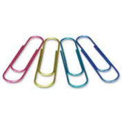 "Baumgartens® Jumbo Metallic Paper Clip, 4"" Length, Assorted, 1 Each"