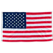 "Baumgartens Heavyweight American Flags, BAUTB5800, 96""W x 60""L, Nylon Flag"