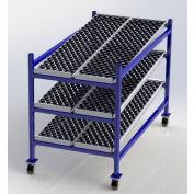 """UNEX Flow Cell Mobile Gravity Rack 36""""W x 72""""D x 54""""H"""