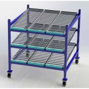 """UNEX Flow Cell Mobile Gravity Rack 48""""W x 48""""D x 54""""H"""