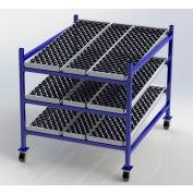 """UNEX Flow Cell Mobile Gravity Rack 48""""W x 60""""D x 54""""H"""